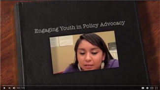 Engaging Youth in Policy Advocacy teen girl speaking